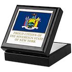 New York Proud Citizen Keepsake Box