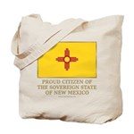 New Mexico Proud Citizen Tote Bag