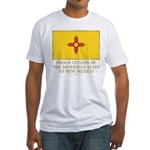 New Mexico Proud Citizen Fitted T-Shirt