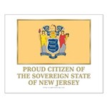 New Jersey Proud Citizen Small Poster