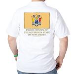 New Jersey Proud Citizen Golf Shirt
