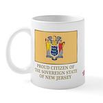New Jersey Proud Citizen Mug