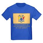 New Jersey Proud Citizen Kids Dark T-Shirt