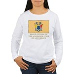 New Jersey Proud Citizen Women's Long Sleeve T-Shi