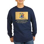 New Jersey Proud Citizen Long Sleeve Dark T-Shirt