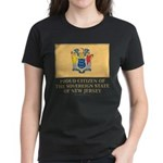 New Jersey Proud Citizen Women's Dark T-Shirt