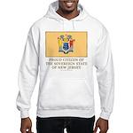 New Jersey Proud Citizen Hooded Sweatshirt