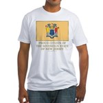 New Jersey Proud Citizen Fitted T-Shirt