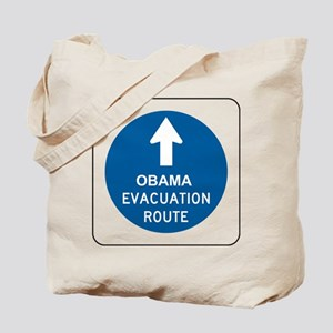Obama Evacuation Tote Bag