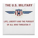 U.S. Military Tile Coaster