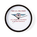 U.S. Military Wall Clock