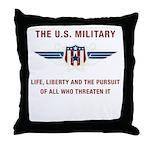 U.S. Military Throw Pillow