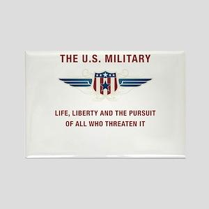 U.S. Military Rectangle Magnet