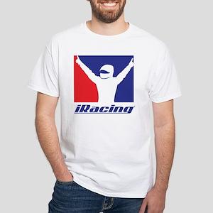 White Logo Front & Back T-Shirt