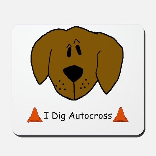 I Dig Autocross Mousepad