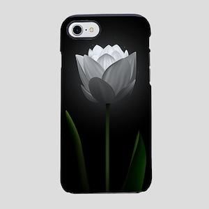 White Tulip iPhone 7 Tough Case