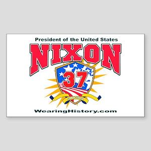 Richard Nixon Rectangle Sticker