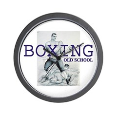 TOP Boxing Slogan Wall Clock