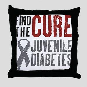 Juvenile Diabetes Throw Pillow