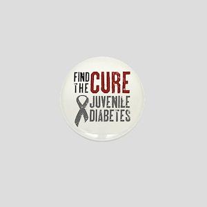 Juvenile Diabetes Mini Button