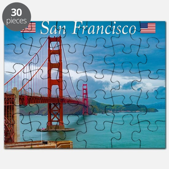 Old San Francisco California Map Puzzles Old San Francisco - San francisco map puzzle