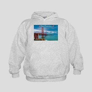 Stunning! Golden Gate Bridge San Franci Sweatshirt