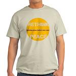 Rethink Peace Light T-Shirt