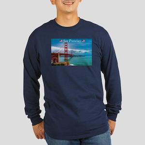 Stunning! Golden Gate Bridge S Long Sleeve T-Shirt