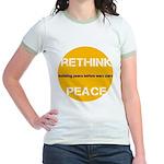 Rethink Peace ~ Jr. Ringer T-Shirt