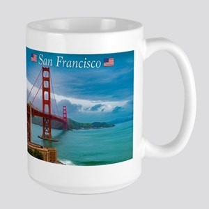 Stunning! Golden Gate Bridge San Francisco Mugs
