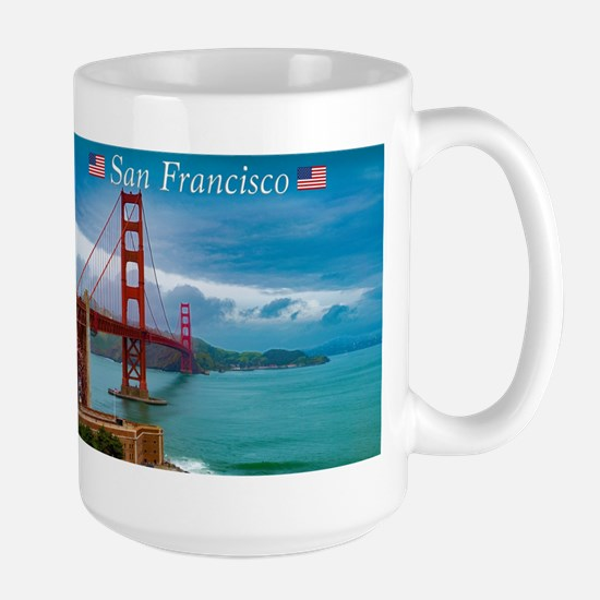 Stunning! Golden Gate Bridge San Francisco Mugs