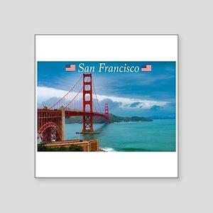 Stunning! Golden Gate Bridge San Francisco Sticker