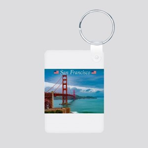 Stunning! Golden Gate Bridge San Francis Keychains