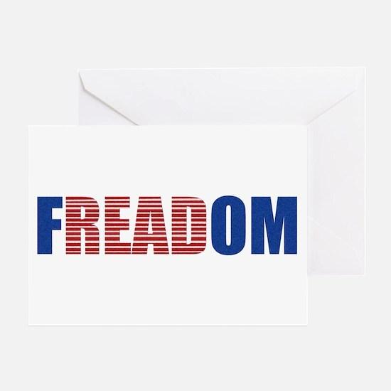 FREADOM Greeting Card