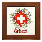 Gruezi Framed Tile