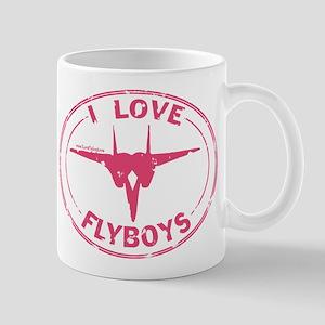 I Love Flyboys -pink Mug