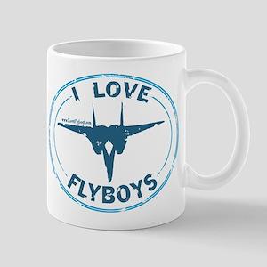 I Love Flyboys -blue/navy Mug