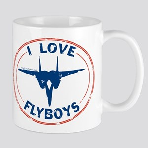 I Love Flyboys -red/blue Mug