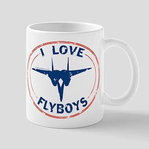 I Love Flyboys -red/blue Mug