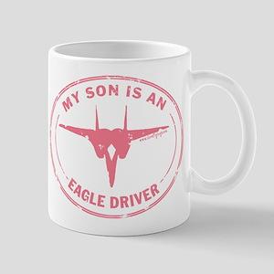 My Son is an Eagle Driver Mug