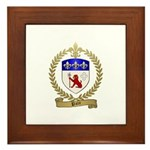 PATE Family Crest Framed Tile
