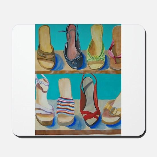 Shoes-e-Shoes Mousepad