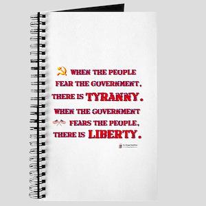 Tyranny & Liberty Journal