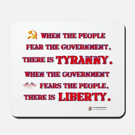 Tyranny & Liberty Mousepad