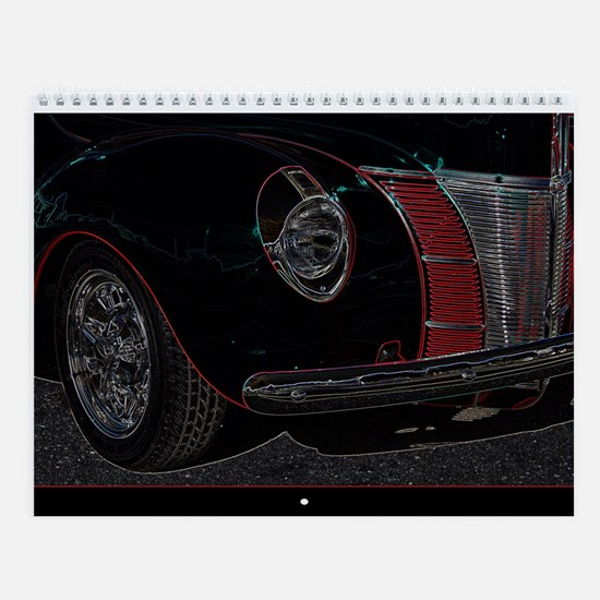 Unique Ford cars Wall Calendar