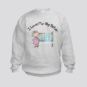 little brother big sister matching shirts Kids Swe