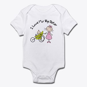 little brother big sister matching shirts Infant B