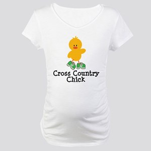 Cross Country Chick Maternity T-Shirt