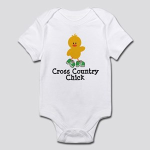 Cross Country Chick Infant Bodysuit