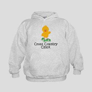 Cross Country Chick Kids Hoodie